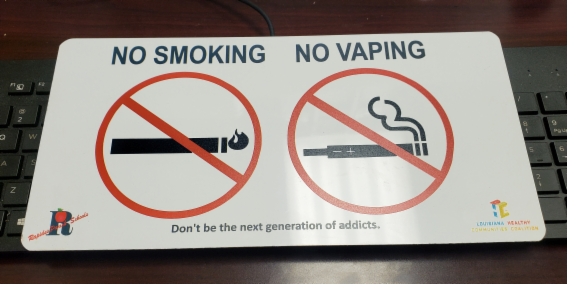 RAPIDES PARISH SCHOOLS, HAYNESVILLE FIGHTING TOBACCO AND VAPING